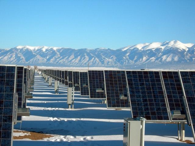 Solkraft på vintern